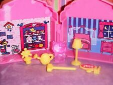 Hello Kitty Dollhouse Accessories Toys Lot fits Fisher Price Loving Family Dolls