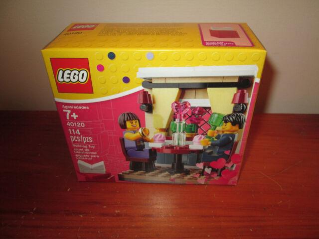 New in Sealed Box LEGO 40120 Valentine/'s Day Dinner Seasonal Holiday 2015