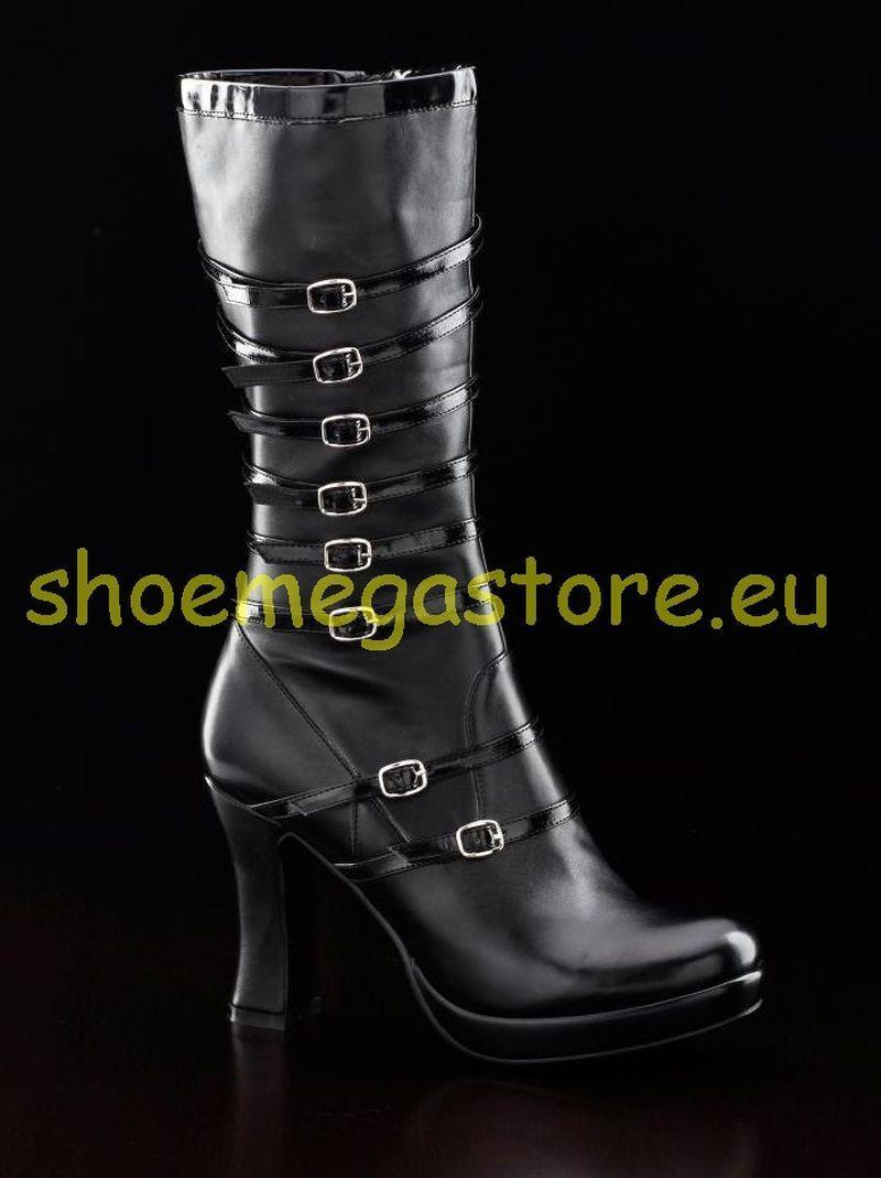 Inamagura Inamagura Inamagura Stiefel Kunstleder black 37E15 High Boot Black PU aabce7