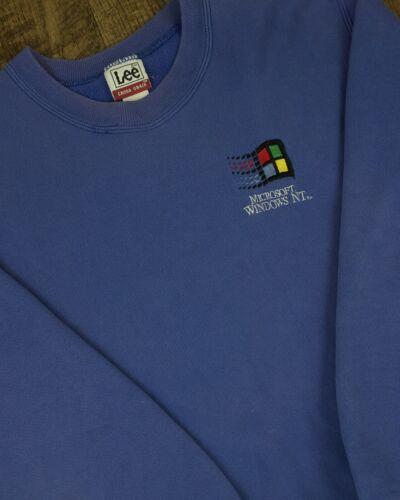 Vintage Microsoft Windows NT Sweatshirt | Large 90