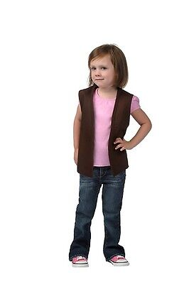 Daystar Perfect Sheriff Callie Costume 1 Style 750 Child No Pckt Cowboy Vest