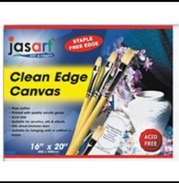 Jasart Canvas Board 8x10 Inch Clean Staple Free Edge Acid Free