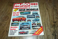 Auto Katalog 1982