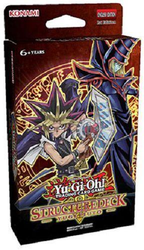 Yugioh Yu-Gi-Oh Yugi Muto 1st Edition Structure Deck