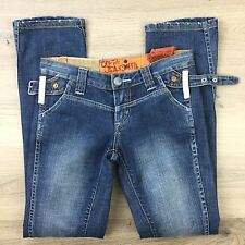 Tough Jeansmith Straight Leg Buckle Women's Jeans Size 26 Fit W31 L31.5 (OO15)
