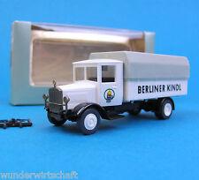 Roskopf H0 1013 Mercedes Berliner Kindl Oldtimer LKW Nostalgie HO 1:87 OVP RMM
