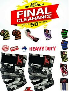 WEIGHT-LIFTING-Heavy-Duty-KNEE-WRAPS-Power-Liftin-BODYBUILDING-GYM-SUPPORT-STRAP