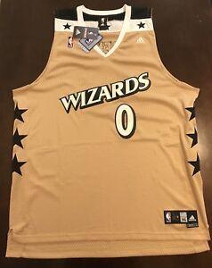 sports shoes 507bd 0db6b Details about Rare Adidas NBA Washington Wizards Gilbert Arenas Agent 0  Basketball Jersey