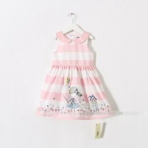 NEW Kids Baby Girl Summer Water Flower Elegant Dress size 2.3.4.5.6.7.8