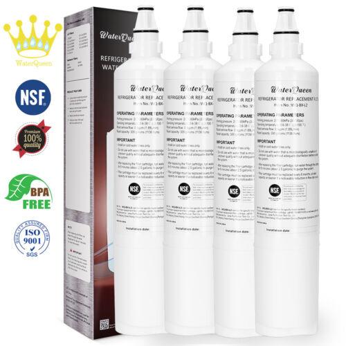 4PK Fit Kenmore 46-9990 Water Filter LG 5231JA2006F 5231JA2005A Fridge Filters