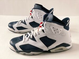 differently b4858 ceade Image is loading NIKE-AIR-JORDAN-6-RETRO-OLYMPIC-SZ-11-