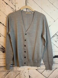 Details about Uniqlo Women's Extra Fine Merino Crew Neck Cardigan Size XS Gray