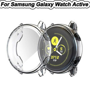 TPU-Frame-Cover-Case-Shell-Full-Protector-For-Samsung-Galaxy-Watch-Active-40mm