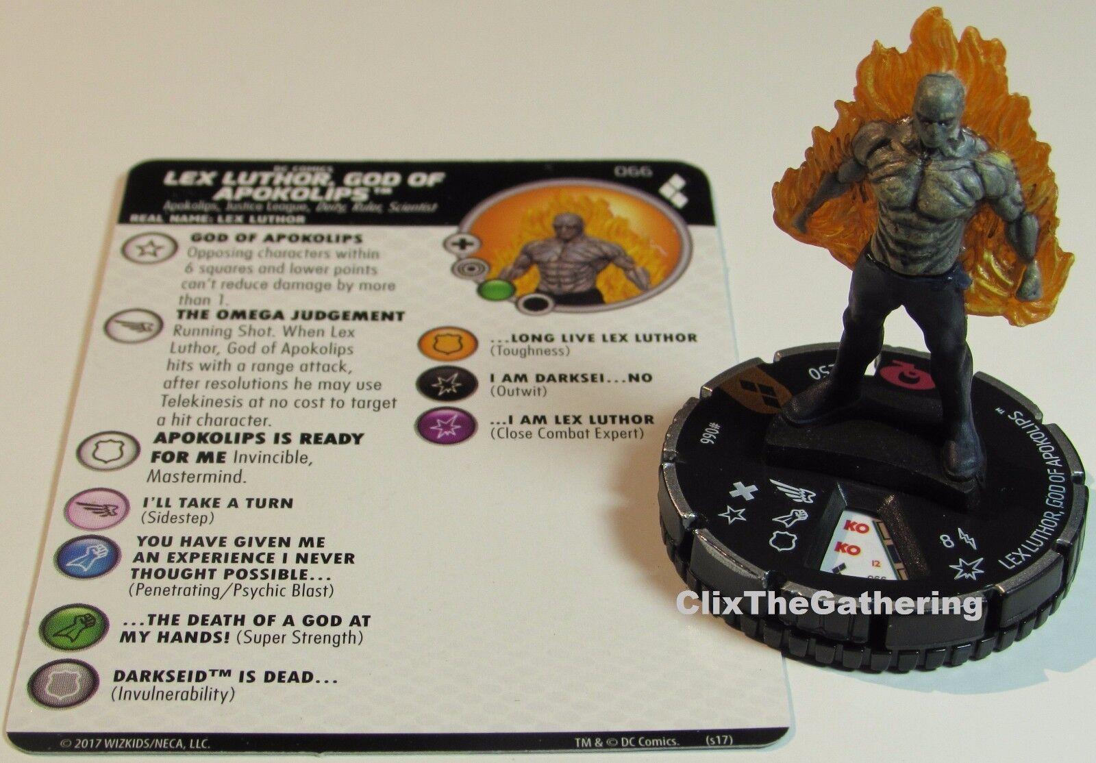 Lex Luthor God Of Apokolips 066 Harley Quinn et 'Gotham Filles Heroclix