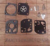 Zama Rb-27 Carburetor Rebuild Kit Oem, Not Aftermarket Us Seller