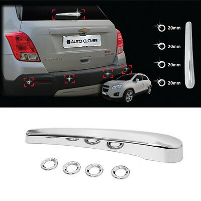 Trax Chrome Rear Molding Kit Garnish Trim C283 For CHEVROLET 2013-2017 Gsuv
