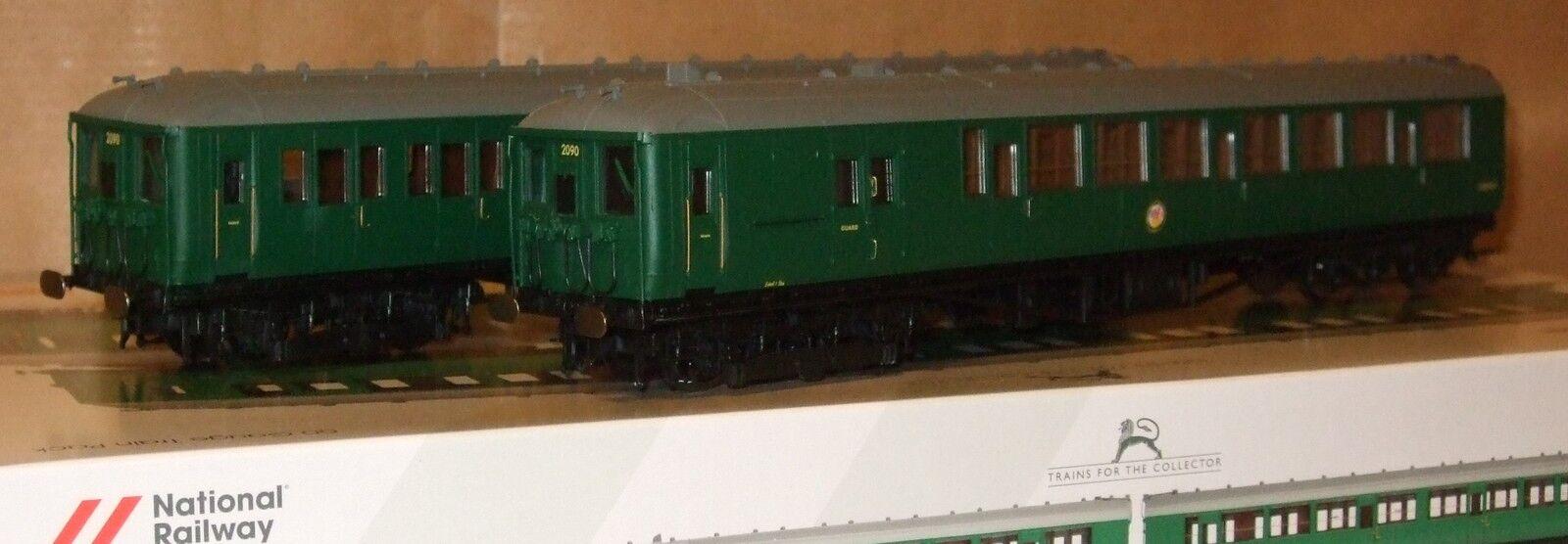 Hornby R3177 BR klass 401 2 -BIL EMU nr 2090 BR grön lever NRM utgåva NY