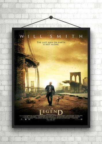 I Am Legend Classic Large Movie Poster Print A0 A1 A2 A3 A4 Maxi