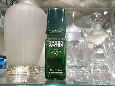 GREEN WATER Jacques Fath 75 ml eau de toilette NO BOX RARE VINTAGE PERFUME