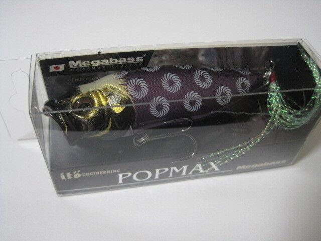 Megabass Ito popmax karajishi Shikoku Limitada Color Nuevo en paquete    pop-Max