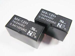 10-x-Rele-12v-2xum-24v-1a-120v-0-5aA-m4-12h-12r33