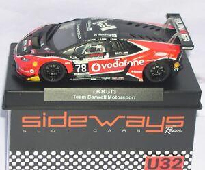 Elektrisches Spielzeug Racer Sideways Swcar01e Lamborghini Huracan Lbh Gt3 #78 Vodafone Team Barwell Spielzeug
