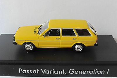 1:43 Minichamps VW Passat i Variant amarillo//Yellow 1974 OVP