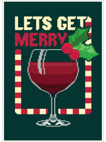 Mini Poster It/'s Christmas Let/'s Get Merry 32x44cm