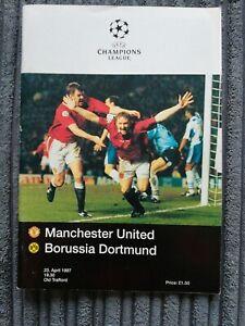 96/7 Manchester United vs Borussia Dortmund (Champions League Semi Final)