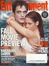 Twilight Breaking Dawn Entertainment Weekly Aug 2011 Sherlock Kate Winslet