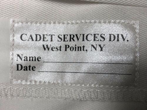 WOMEN/'S 18R CADET WEST POINT MILITARY ACADEMY GRAY OVER WHITE SHORT SLEEVE SHIRT