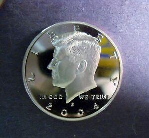 2011-S PROOF KENNEDY HALF DOLLAR ULTRA CAMEO GEM VERY HIGH GRADE LOOKS PERFECT