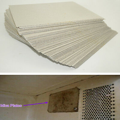 5 Microwave Oven Mica Plates Sheet