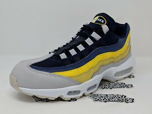 low priced d02ae 0b714 Details about Nike Air Max 95 Lemon Wash White Vast Grey Tour Yellow  749766-107