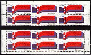 Canada-1982-Sc916-Mi829-11-20-MiEu-1-MI-blocks-mnh-1982-Constitution