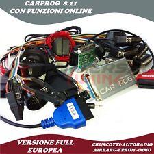 CARPROG V8.21  FULL ONLINE RIPRISTINO AIRBAG CRUSCOTTI KM AUTORADIO SCODIFICHE