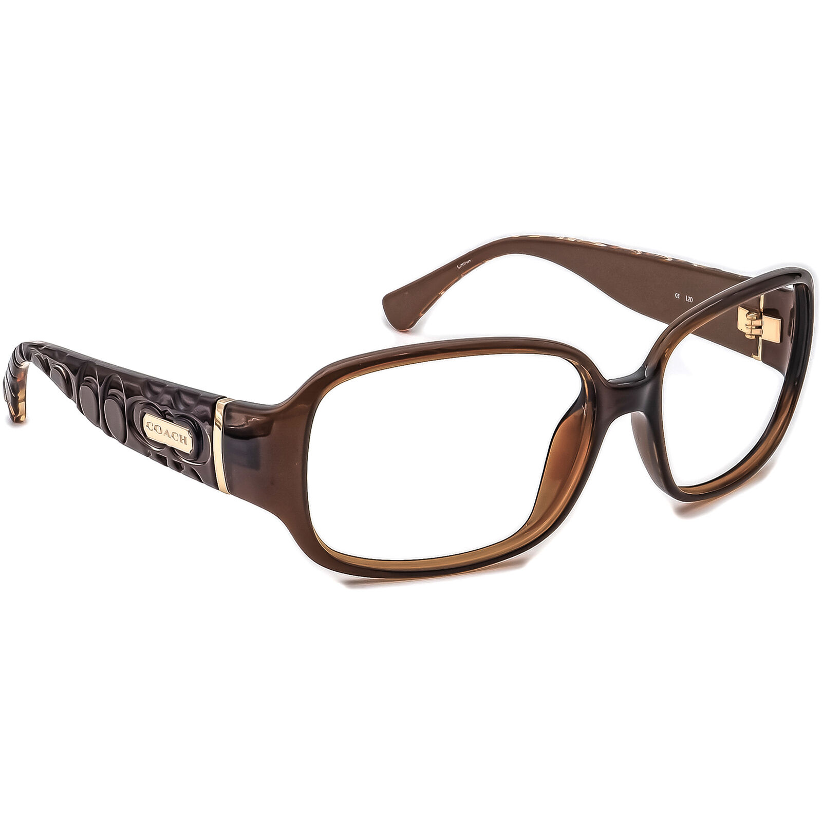 Coach Women's Sunglasses Frame Only S3011 Brown Square 55 mm