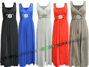 LADIES-LONG-FORMAL-EVENING-PARTY-BUCKLE-CELEB-MAXI-SLEEVELESS-PARTY-DRESS-8-26