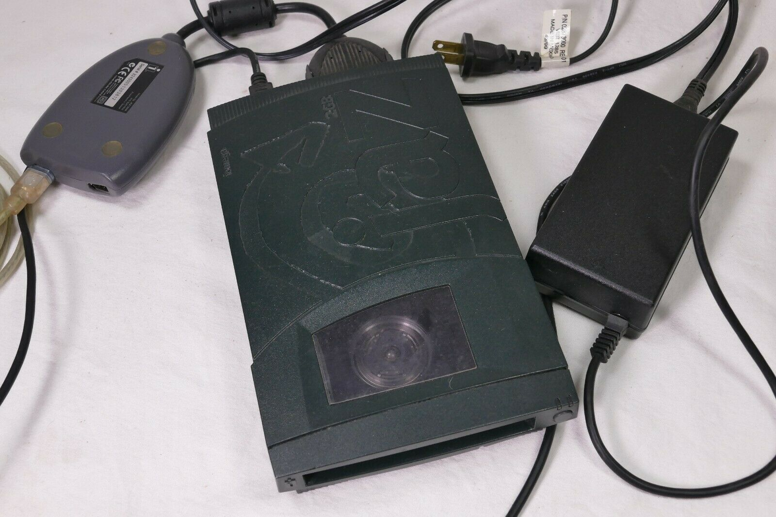 Iomega Jaz V2000S AND 1394A Jaz FireWire to SCSI Adapter for PC/Mac w/power