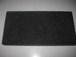 Adroit Regupol Caoutchouc Bloc 250 Mm X125mm X40mm-afficher Le Titre D'origine