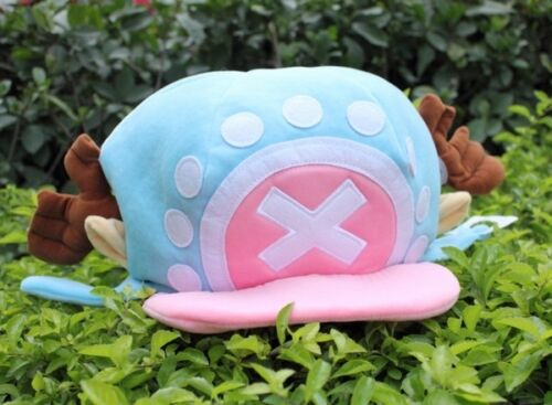 New One Piece Tony Tony Chopper Cosplay Cap Plush Hat Anime Collection