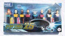 Star Trek The Next Generation 25TH Anniversary PEZ Set Collectors LE