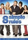 8 Simple Rules The Complete First Season 3 Discs 2007 Region 1 DVD