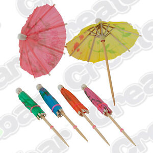 MINI-PACK-Paper-Cocktail-Parasols-Umbrellas-20pcs