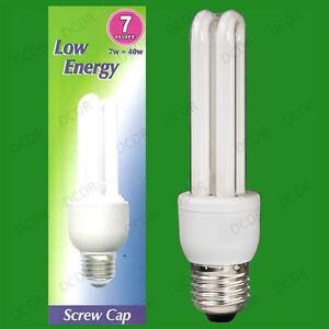 10x-7W-40W-Risparmio-Energetico-Basso-Consumo-Energetico-CFL-Lampadina-Stick