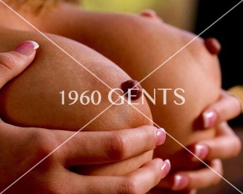 1990s NUDE 8X10 BUSTY BIG BREASTS BIG NIPPLES PHOTO FROM ORIGINAL NEG-1PB