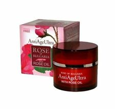 """""""Rose of Bulgaria"""" ANTI-AGE CREAM Ultra 50ml with NATURAL ROSE OIL, new product"""