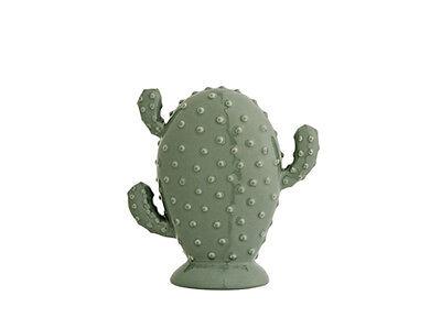 Bloomingville Deko Kaktus grün 17 cm hoch Keramik Deko