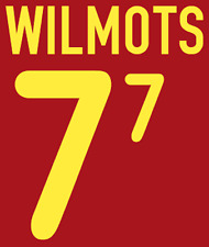 Belgium Wilmots Nameset 2000 Shirt Soccer Number Letter Heat Print Football H
