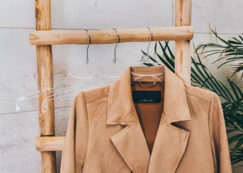 Kleiderbügel Kunststoff Transparent Klar Hemdenbügel Blusenbügel Drehbar Neu